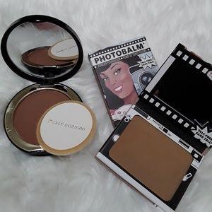 Merle Norman & The Balm powder bronzer/contour